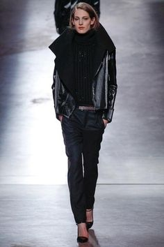 Anthony Vaccarello Fall 2014 Ready-to-Wear Collection Slideshow on Style.com