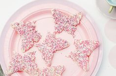 This butterfly fairy bread will bring a smile to all the kids faces at your child's birthday party.