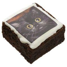 Cat Dracula Halloween Brownies - halloween decor diy cyo personalize unique party