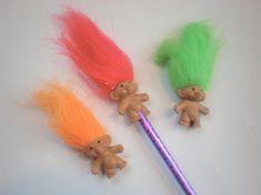 troll pencil topper
