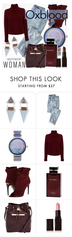 """***"" by thysania ❤ liked on Polyvore featuring Wolf & Moon, Wrap, Porsamo Bleu, 360 Sweater, Burberry, Dolce&Gabbana, Ted Baker, Laura Mercier and oxblood"