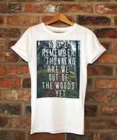 Taylor Swift Quote Lyrics 1989 Shirt Unisex Adult / Youth Tee / Kids