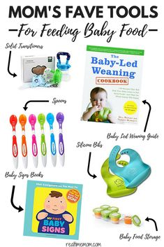 Starting solids with baby is exciting and overwhelming for new parents. Check out this list with first food products that will make this time easier for you and baby! #firstfoods #startingsolids #firstfoodsproducts #babyledweaning #babyfoodmaking #firstfoodproducts #firstfoodblw #blw