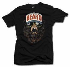 <p>COOL BEARD T-SHIRT Grow a full, thick, powerful beard and get ready for a transformative experience. You will look in the mirror, and you will realize that you are something new. you are something different. You have been BEAR'D. Prepare for your new bear'ded life by fishing for 20lb salmon with your bare hands and sniffing the air for the musk of females every thirty feet. Want to sleep for three months? that's cool. You are all that is bear.</p>