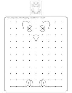 Complete the picture by joining the correct dots | Download Free Complete the picture by joining the correct dots for kids | Best Coloring Pages