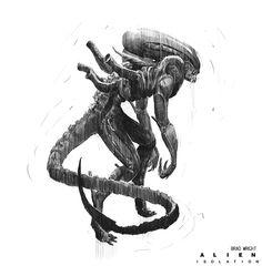 Alien Isolation Concept Art - Brad Wright