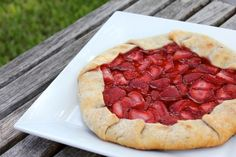 Grilled Strawberry Galette – A Barbequed Dessert