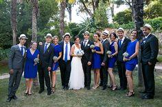 Marine et Emmanuel, mariage en bleu au Cap brun