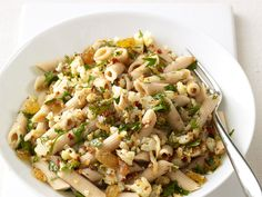Sicilian Cauliflower Pasta from #FNMag #myplate #grain