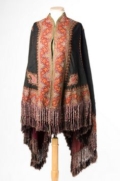 Cape made from a Persian shawl, c. 1875. Charleston Museum