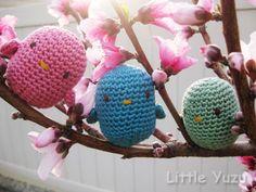 Free Pattern: Crocheted Spring Birds