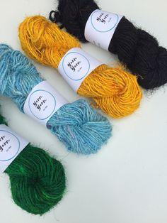 Himalaya Recycled PURE SARI Silk Yarn Knit 300g