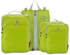 Eagle Creek Pack-It Specter Essential Carry-On Set - 4pc Set, Strobe Green Pack: Amazon.ca: Luggage & Bags
