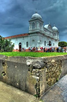 TheChurch of Barva, Heredia, Costa Rica ~ declared a National Heritage,has been around for more than 116 years. Its quicklime and rock-fragmented walls as well as the neoclassical design are a charm for all tourists who see this breathtaking architectural and historical site.
