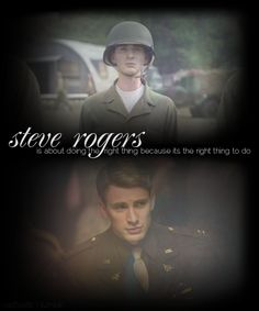 Steve Rogers is awesome.