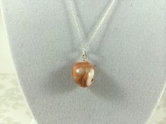 Rare Thomsonite and Sterling Silver by TheBeadtiqueJewelry on Etsy, $75.00