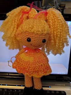 Crochet doll pattern - now just need a little girl to make this for.