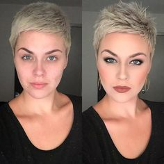 10 Heißesten Kurze Frisuren für den Sommer, Schicke Kurze Haare 10 Hottest Short Hairstyles for Summer, Chic Short Hair Related posts:Short hairstyles for women are incredibly popular now and although we may have f. Short Pixie Haircuts, Pixie Hairstyles, Short Hairstyles For Women, Summer Hairstyles, Easy Hairstyles, Hairstyle Ideas, Hair Ideas, Haircut Short, Style Hairstyle