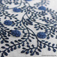 BLUE FLOWER CLOTH by yumiko higuchi