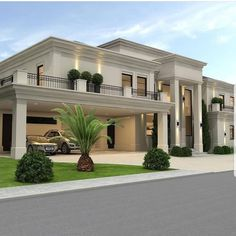most popular modern dream house exterior design ideas 5 Best Modern House Design, Classic House Design, Dream Home Design, Dream House Interior, Luxury Homes Dream Houses, Villa Design, Style At Home, Classic House Exterior, Casas Containers