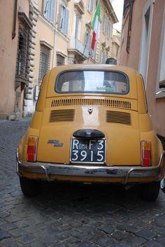 Citytrip Rome: Fiat500