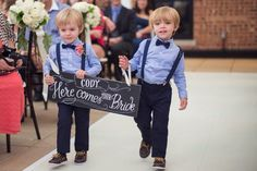 Love my ring bearer's!! Kroon twins. Love their wedding outfits!