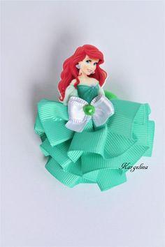 Princess Ariel Hair Clip Handmade Hair Band Crown Disney