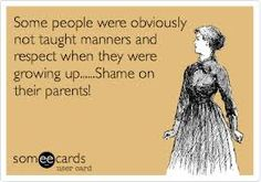 We need to send our kids off to college with good manners, proper etiquette