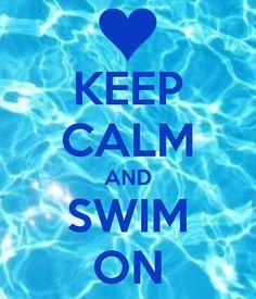 keep calm and swim - Recherche Google