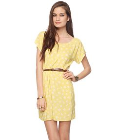 forever21! yellow is for summer :)