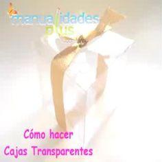 Cajas Transparentes para Peluches: Patrones y Video Cute Box, Belle Epoque, Ideas Para, Wraps, Gift Wrapping, Gifts, Diy, Wedding, Video Clip