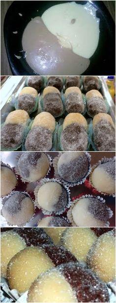 CASADINHO UM DOCINHO GOSTOSO,MISTURA PERFEITA!! VEJA AQUI>>>Pegue pequenas porções do escuro e uma do branco (1 colher chá de cada) e junte as 2 porções e enrole normalmente Passe no açúcar cristal, coloque em forminhas #receita#bolo#torta#doce#sobremesa#aniversario#pudim#mousse#pave#Cheesecake#chocolate#confeitaria