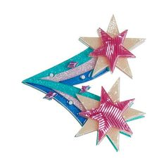 Have a cosmic good time when wearing this star burst resin brooch from Erstwilder's Space collection. Height 6 cm, width 6.5 cm. Laser cut, hand assembled and hand painted, presented in a branded box as shown, with a cute teapot tag.