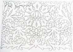 Cutwork Embroidery, Embroidery Patterns, Irish Crochet, Crochet Motif, Lacemaking, Cut Work, Linens And Lace, Needle Lace, Jute
