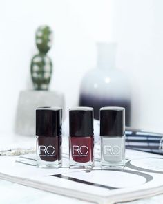 I'm baaaaack! After a short Insta-break I'm back with a new post... Check out these gorgeous Autumn/Winter nail shades from @roxannecampbell  My favourite shade is Expensive Taste (far left) as it comes out in this gorgeous deep berry tone. What shades nail polish shades are you loving this time of year?  Check out my full review at http://ift.tt/1qxAmjD