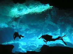 Cave Diving in the Mayan Riviera. What a surreal experience!