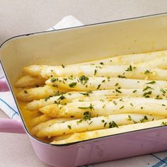 Rezept für Ofenspargel mit Zitronenbutter | Küchengötter