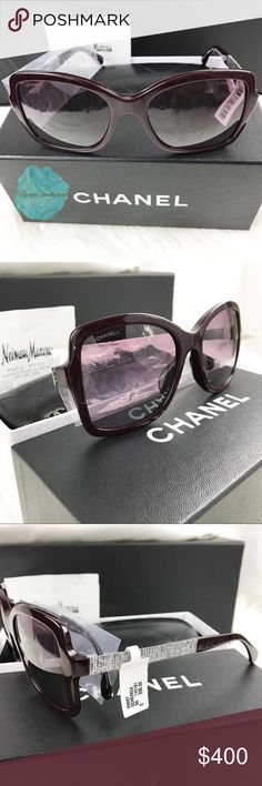 CHANEL Sunglasses CHANEL Sunglasses - Red  Condition: New Comes with fullbox and accessories.  Retail price: $395 plus tax CHANEL Accessories Glasses