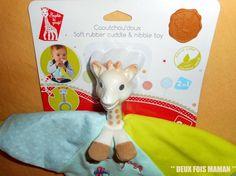 Sophie la girafe: http://deux-fois-maman.blogspot.fr/2015/04/caoutchoudoux-sophie-la-girafe.html