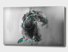 Discover «bird tukan», Limited Edition Acrylic Glass Print by Elyar Safarov - From $99 - Curioos