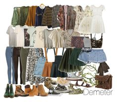 Demeter Aesthetic by wannaberatchethipster on Polyvore featuring polyvore, fashion, style, Miss Selfridge, Monki, IRO, Obesity and Speed, Gypsy, Something Else, Kite and Butterfly, Laurence Doligé, Chicwish, River Island, Topshop, J Brand, Boohoo, Tommy Hilfiger, Timberland, Dr. Martens, Jeffrey Campbell, Tory Burch, Converse, Inverni, AllSaints, modern, women's clothing, women's fashion, women, female, woman, misses and juniors