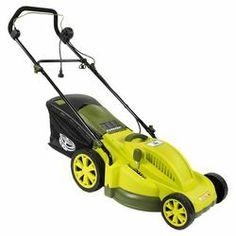 Electric Mower in Green Yellow