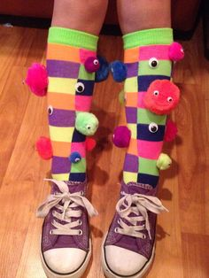 Crazy socks day.