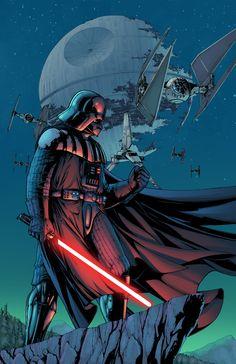 Darth Vader by J-Skipper. #StarWars #Art #gosstudio .★ We recommend Gift Shop: http://www.zazzle.com/vintagestylestudio ★