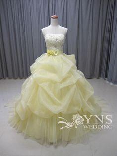 ☆ふんわり優しいカラー☆ の画像|オーダーウェディングドレスのYNS WEDDING