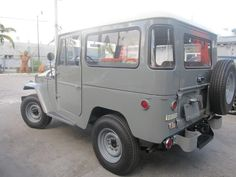 toyota-land-cruiser-fj40-1966-4×4-frame-off-restoration-gray-rare-clean-g | Land Cruiser Of The Day!