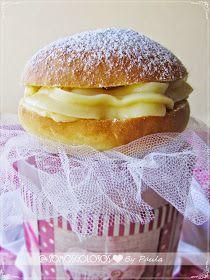 SomosGolosos: Cristinas (o Bambas) de crema... Sin lactosa! Que rico!