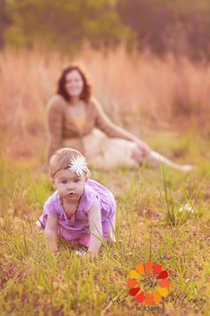 mommy and me baby portraits