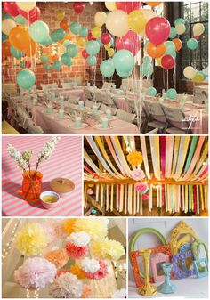 Oh The Places You'll Go..decoration inspiration. great kindergarten or high school graduation party idea