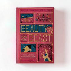 The Beauty and The Beast (signed copy) - MinaLima Store